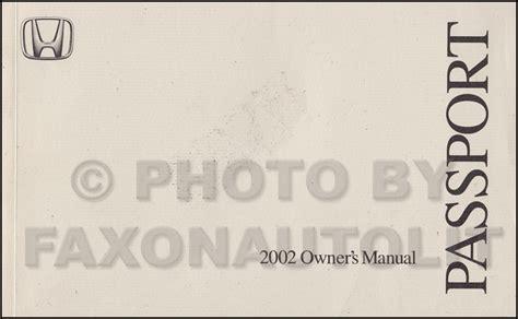 auto repair manual free download 2002 honda passport instrument cluster service manual pdf 2002 honda passport transmission service repair manuals 2002 honda
