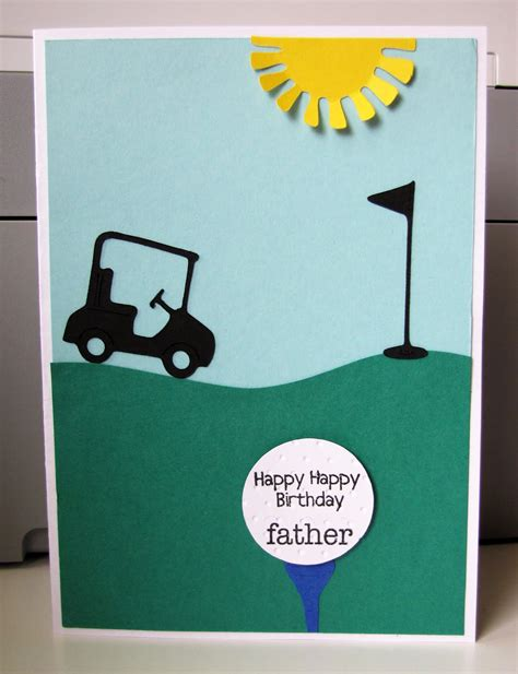 free printable golf greeting cards jen s happy place golfer s birthday card for my dad