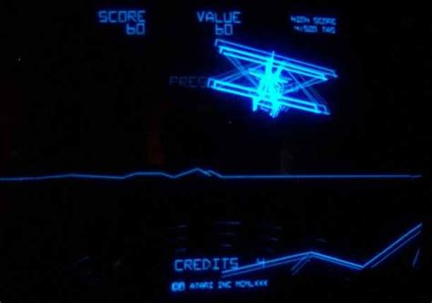 Arcade Cabinet Bezel by Atari Red Baron Vector Arcade Video Game Of 1980 At Www