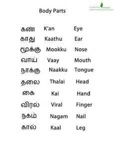 body parts tamil puthakam