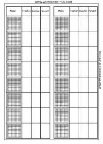 converting fractions decimals and percents worksheets
