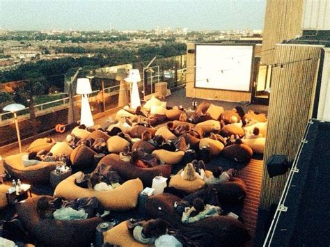 cinema on the roof pin by joe chao on roof top tops cinema and