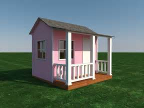 Shed Playhouse Plans by Build Your Own Shed Or Playhouse For The Kids Diy Plans