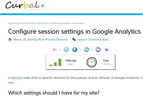 change google analytics session  campaign timeout