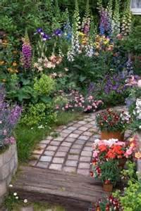 cottage gardens nursery garden paths