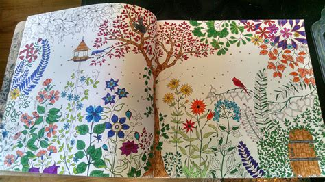 secret garden coloring book page one secret garden page 1 fj colorists unite free jinger