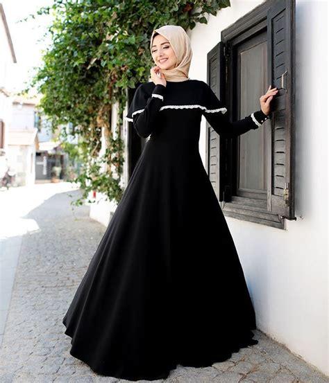 murah seruni maxi dress gamis muslim balotelly cutting laser siyahın asaleti tartışılmaz gamzepolat dress modest
