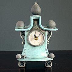 Ceramic Clocks Handmade - handmade ceramic mantel clock by ian home