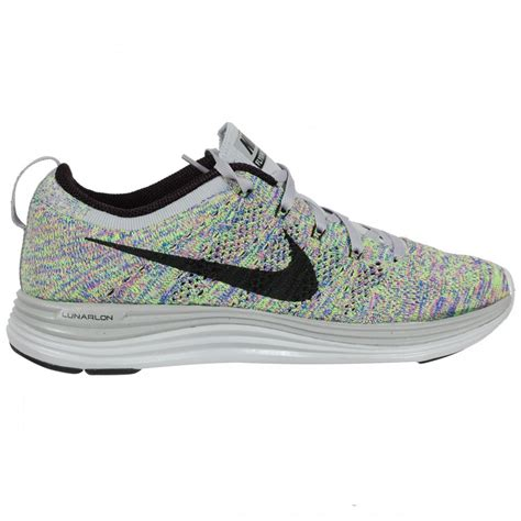 athletic shoes nike nike flyknit lunar 1 s running shoe grey