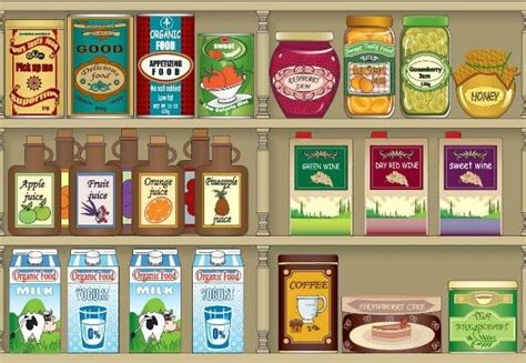 speisekammer clipart passover prep organize the pantry marathons cabinets