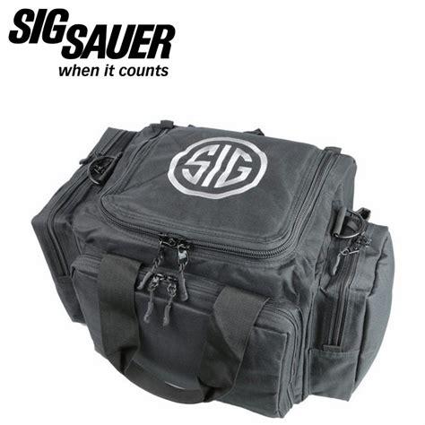 sig sauer pistol range bag black mgw