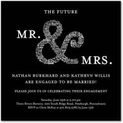 wedding ideas tiny prints engagement party invitations