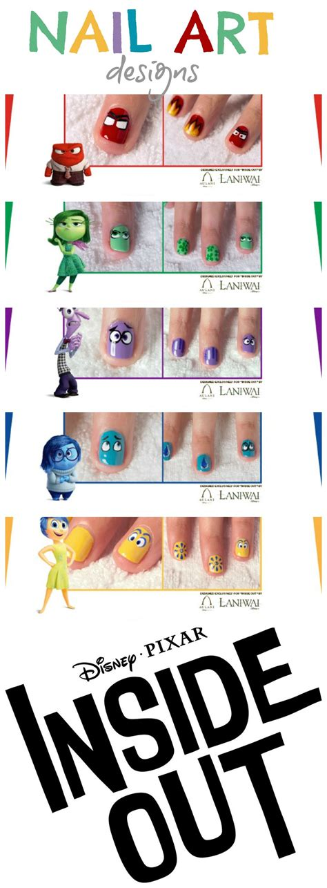 easy nail art pdf inside out movie nail art designs free pdf s to download