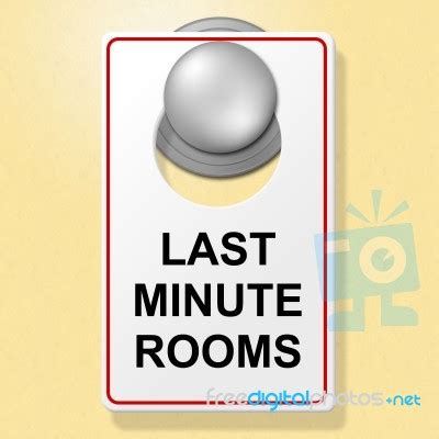 last minute rooms last minute rooms indicates place to stay and finally stock image royalty free image id 100303100
