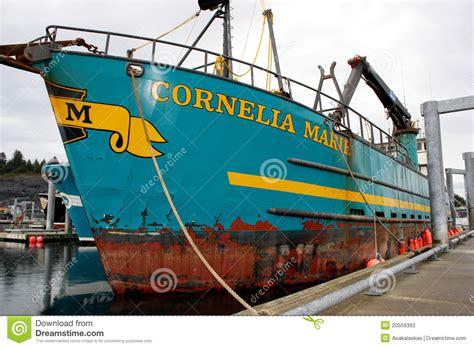 deadliest catch season 13 crab boat sinks cornelia marie from the deadliest catch editorial stock