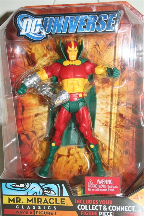Dc Universe Wave 6 Mr Miracle mattel dc universe classics mr miracle parry