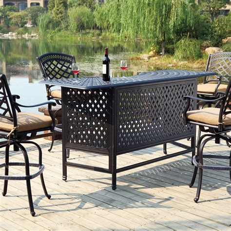 Patio Dining Sets Bar Height by Bar Height Patio Dining Set Candresses Interiors