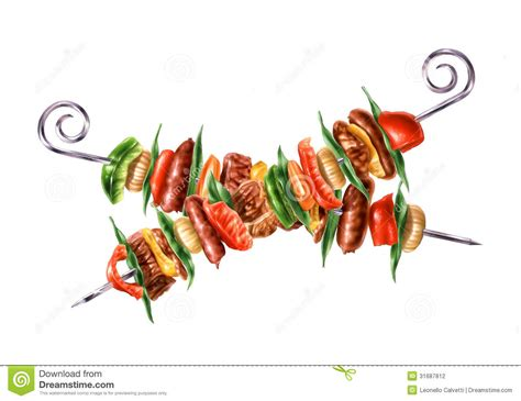 kebab clipart skewers clipart clipground
