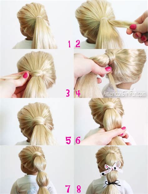 Doll Hairstyles Easy by 235 Best Images About American Doll Hairstyles On