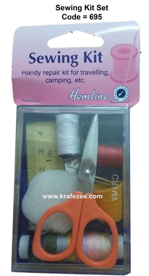 Travel Set Alat Jahit buy affordable travelling sewing kit at krafezee