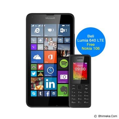 Jual Microsoft Lumia 640 Lte jual smartphone microsoft lumia 640 lte rm 1072 garansi