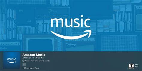 amazon music app amazon music app coming to windows 10