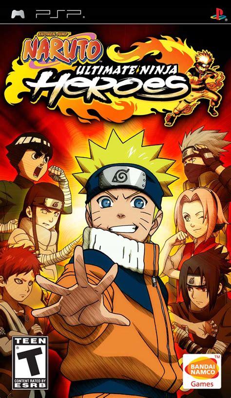 game psp naruto format iso naruto ultimate ninja heroes psp iso download