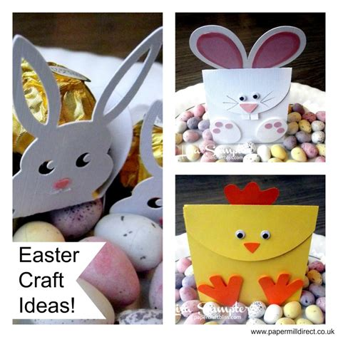 easter craft ideas card supplies papermill direct