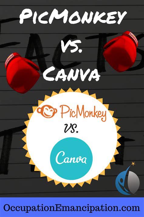 canva vs picmonkey picmonkey vs canva operation emancipation occupation
