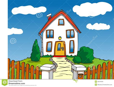house drawing stock images royalty free images vectors cartoon house drawing how to draw a house step step