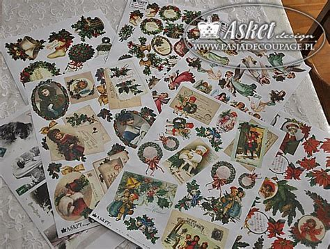 Asket Decoupage - papiery asket