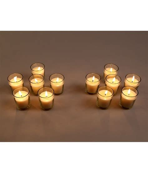 best unscented candles hosley white set of 12 unscented glass candles buy hosley