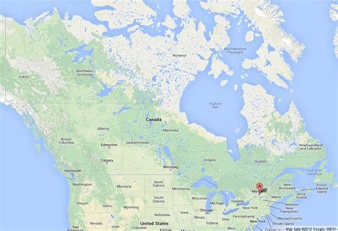 map canada montreal montreal on map of canada world easy guides