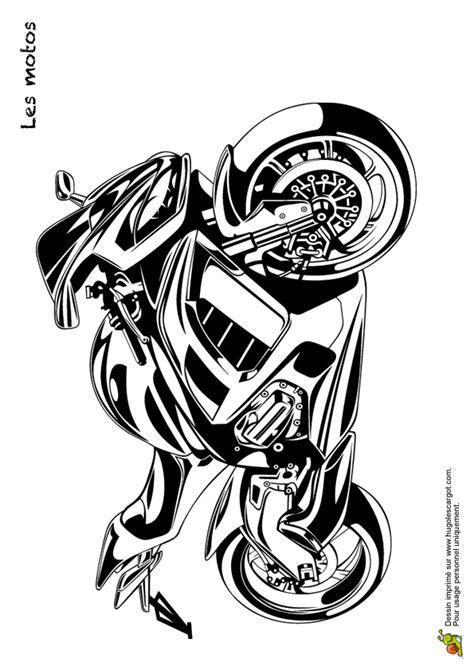 Chopper Için Sticker by Coloriage Transports Les Motos 13 Sur Hugolescargot