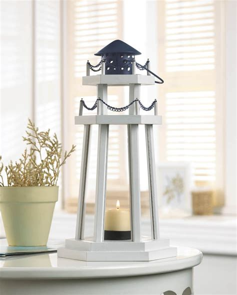 nautical ls lantern lighthouse and candle holders