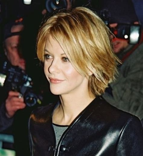 how to cut hair like meg ryans in youve got mail video meg ryan short choppy hairstyles beauty and haircuts