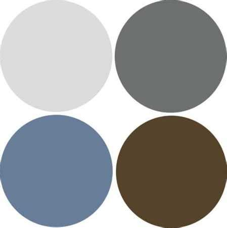 blue and grey color scheme modern interior design 9 decor and paint color schemes