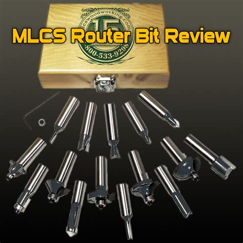 router bit reviews woodworking mlcs router bit review and wood router bit buying guide