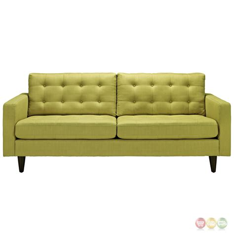 tufted upholstered sofa empress contemporary button tufted upholstered sofa