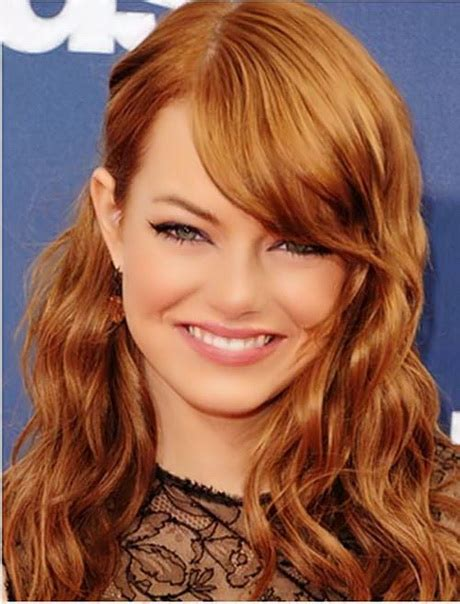 hairstyles with curls and side bangs curly hairstyles with side bangs