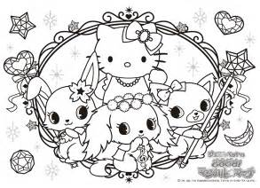kawaii coloring book jewelpets coloring pages nurie kawaii coloring