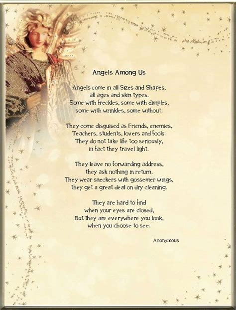 poems about comfort quotes about angels among us quotesgram