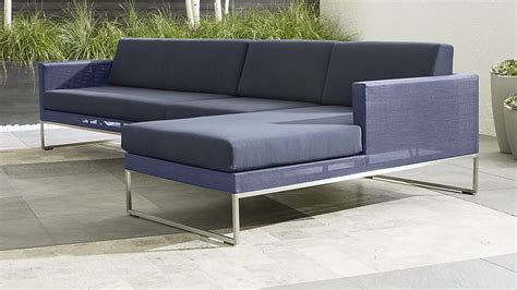 dune 3 right arm chaise sectional sofa with