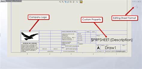 Which Is Which Drawing Template Vs Sheet Format In Solidworks Solidworks Drawing Template