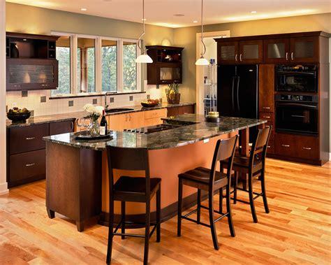 kitchen island with stove and seating kitchen island with cooktop kitchen contemporary with bar