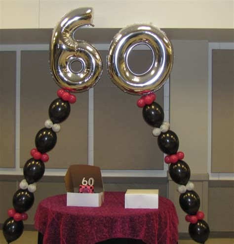 event decorating company 60th birthday