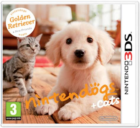 nintendogs and cats golden retriever breeds nintendogs cats line up revealed vooks