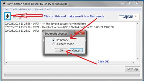 tutorial flash tool xperia tutorial how to flash sony xperia using flashtool