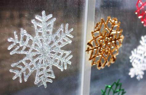 printable diy snowflakes diy snowflake window clings with free printable template