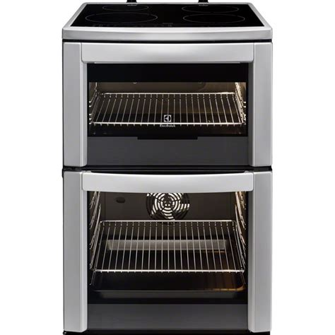 electrolux 60cm stainless steel freestanding cooker with induction hob d i d electrical
